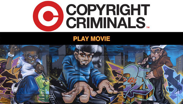 Banner for Copyright Criminals