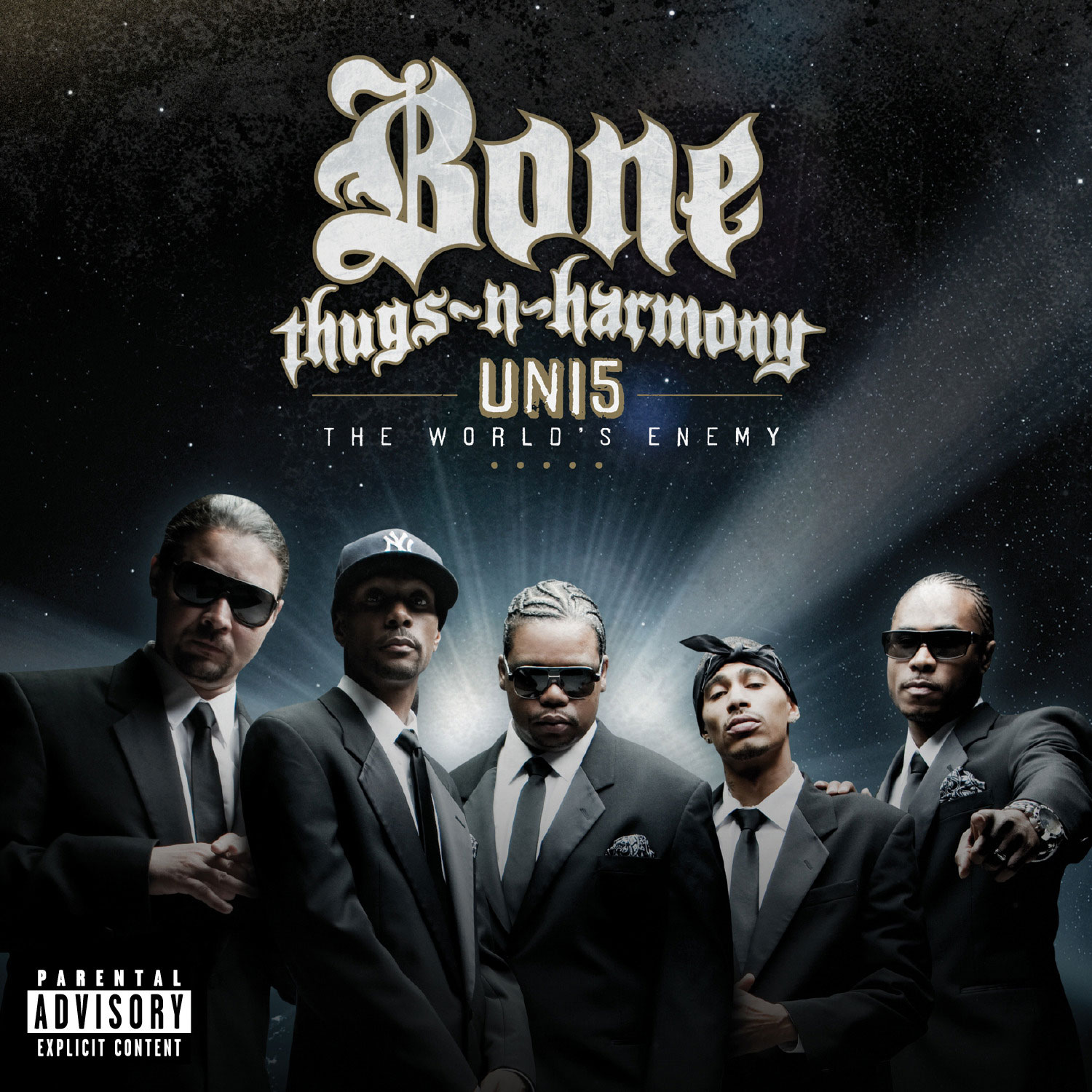 Artwork - Uni5: The World's Enemy by Bone Thugs-n-Harmony
