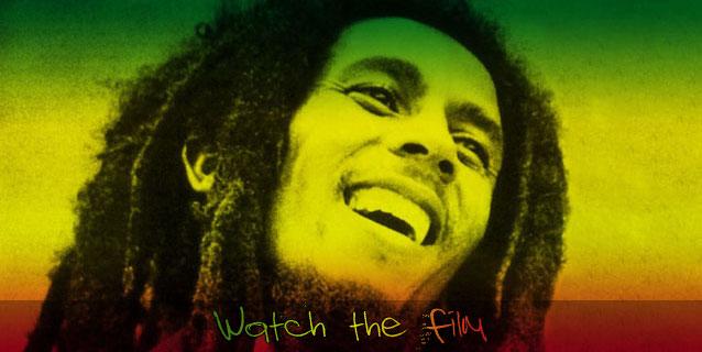 Bob Marley on Ethiopian Flag