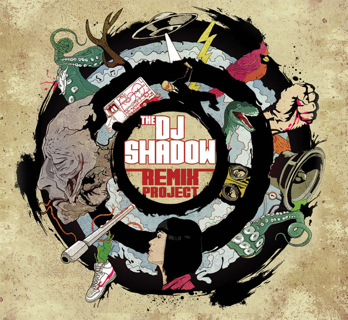Artwork Cover - The DJ Shadow Remix Project