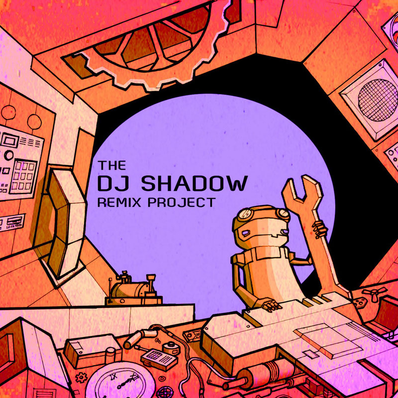 DJ Shadow Remix Project Artwork Unofficial Runner Up 2