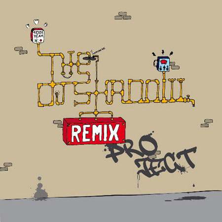 DJ Shadow Remix Project Artwork Unofficial Runner-Up 3