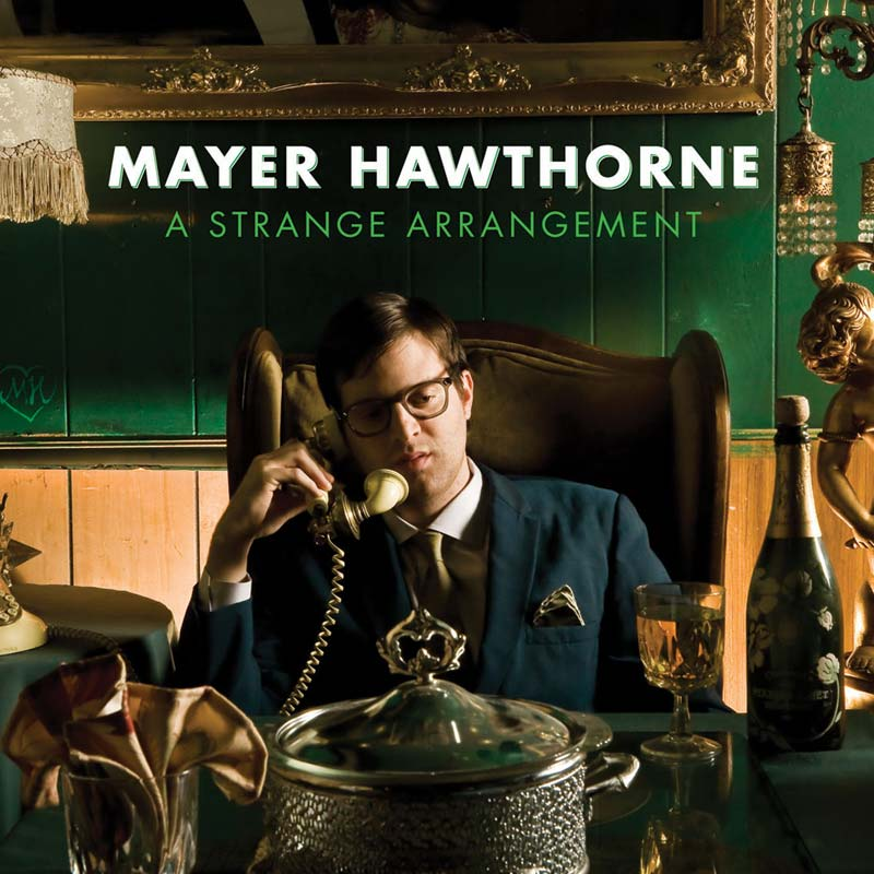 A Strange Arrangement by Mayer Hawthorne (Album Artwork)