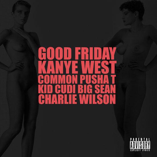 Good Friday by KanYe West (album artwork)