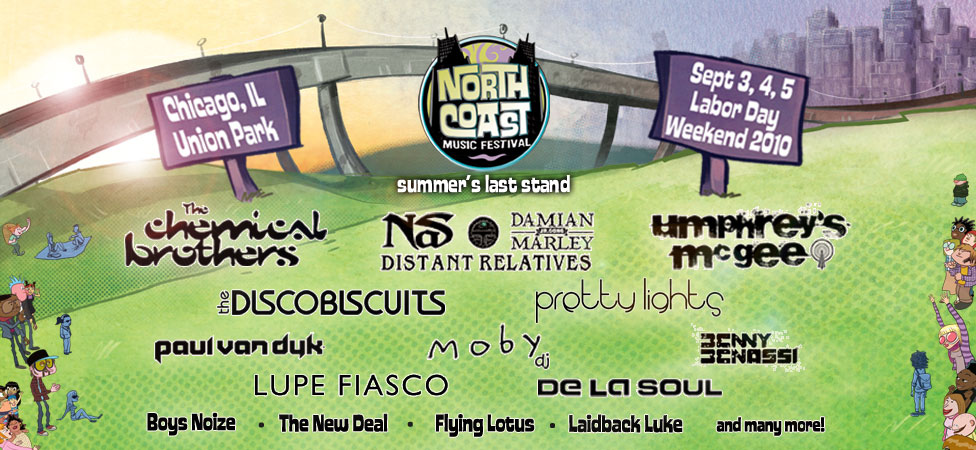 North Coast Music Festival 2010 Lineup