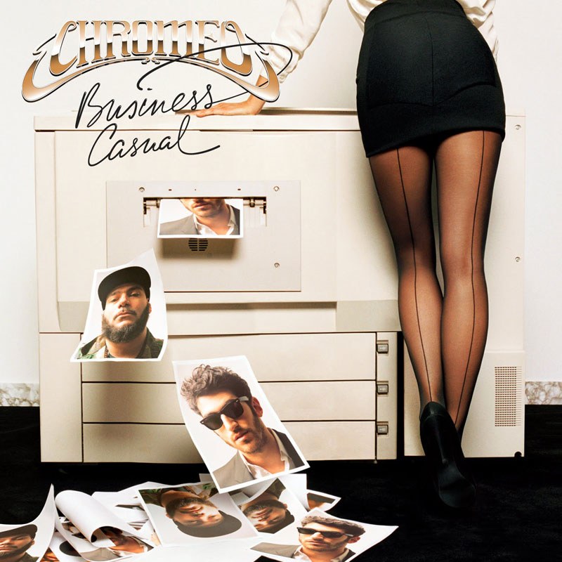 Business Casual by Chromeo (album artwork)