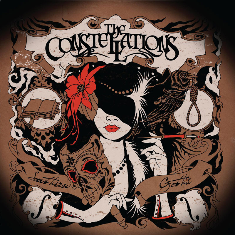 Southern Gothic by The Constellations (album artwork)