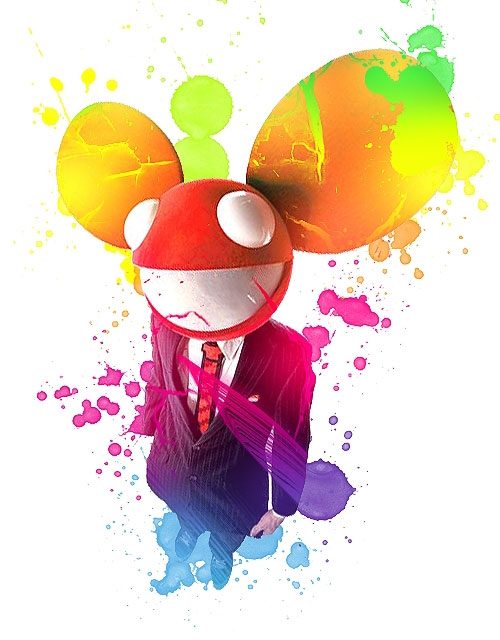Deadmau5 (coloured out)