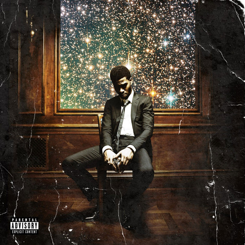 Man On The Moon 2: The Legend of Mr. Rager by Kid Cudi (album artwork)