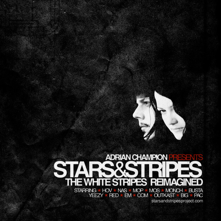 Stars & Stripes: The White Stripes Reimagined by Adrian Champion