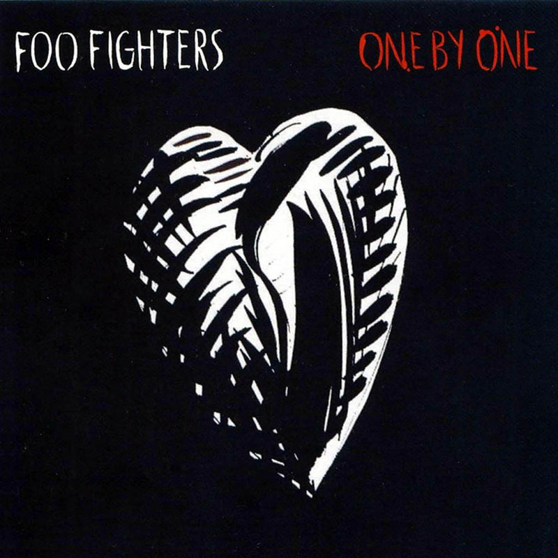 One By One by Foo Fighters (album artwork)