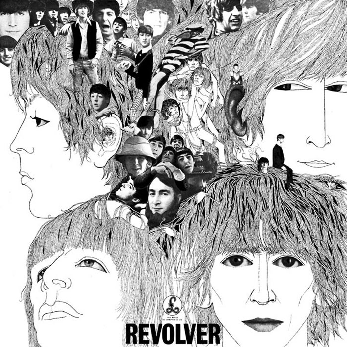 Revolver by The Beatles (album artwork)