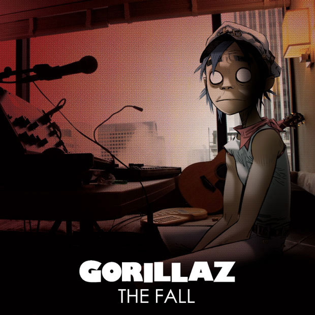 The Fall by Gorillaz (album artwork)