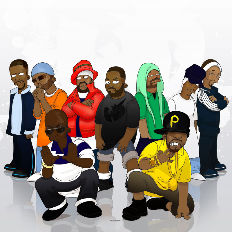 Wu Tang Simpsonized