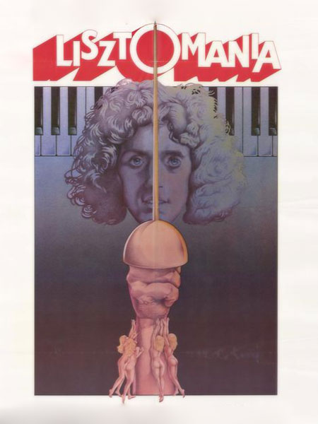 Lisztomania (Movie Poster)