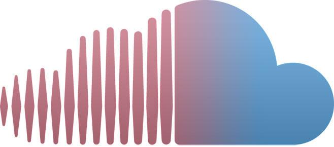 SoundCloud recolored