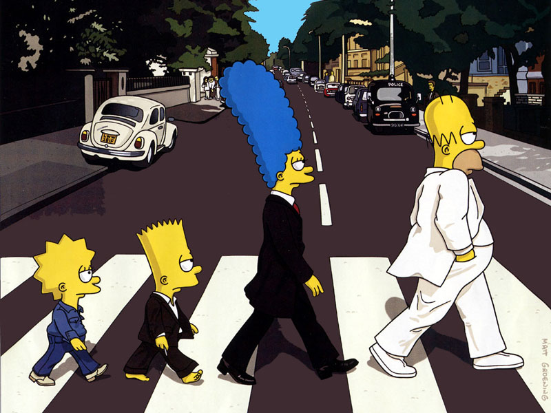 Beatles // Simpson // Abbey Road