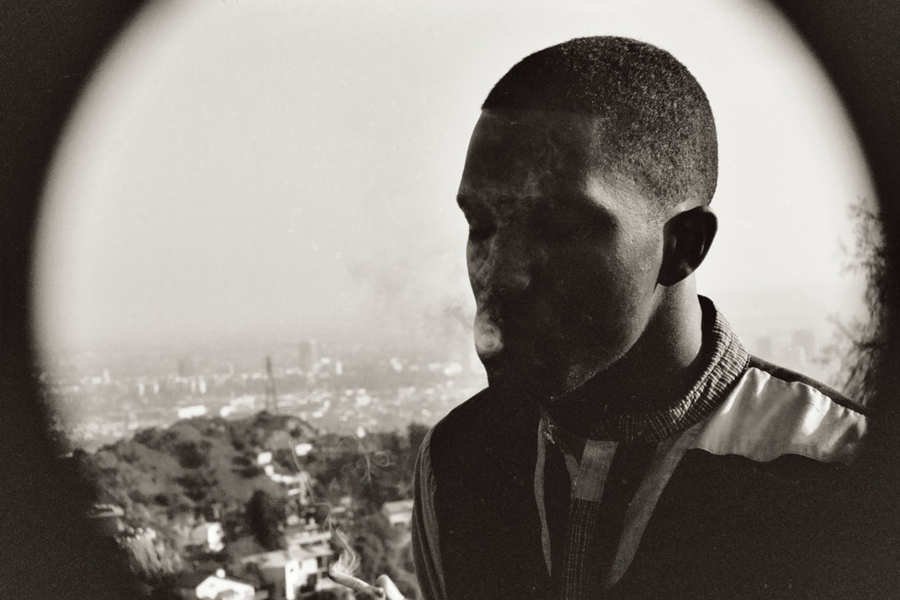 Frank Ocean (smokin Hollywood)