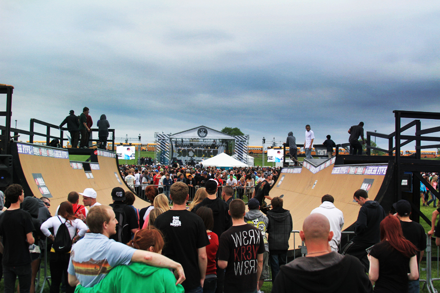Soundset 2011 - Skate Ramp