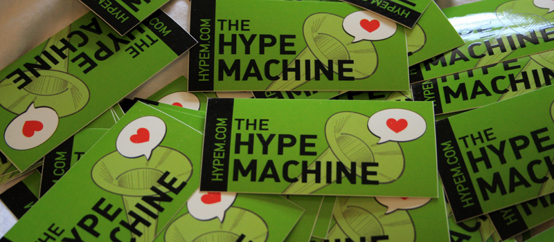 Hype Machine Stickers