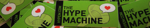 Hypem Stickers (banner)