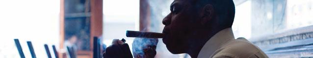 Jay-Z Smokin