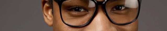 Donald Gambino (glasses)