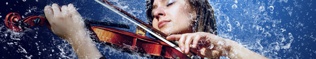 Violin Bath (banner)