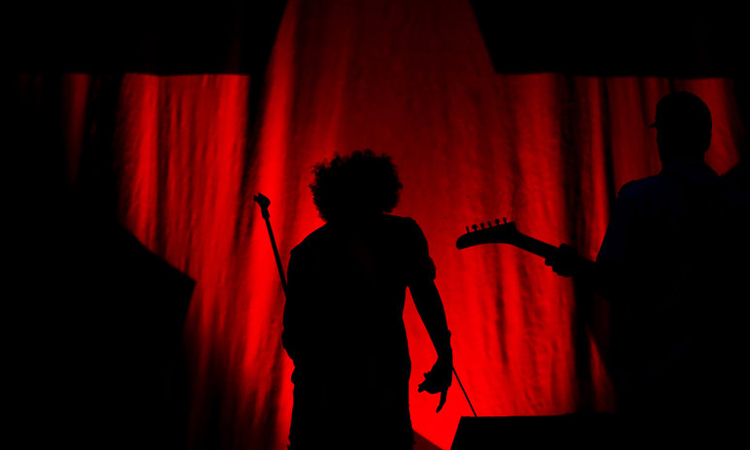 Rage Against the Machine in Red