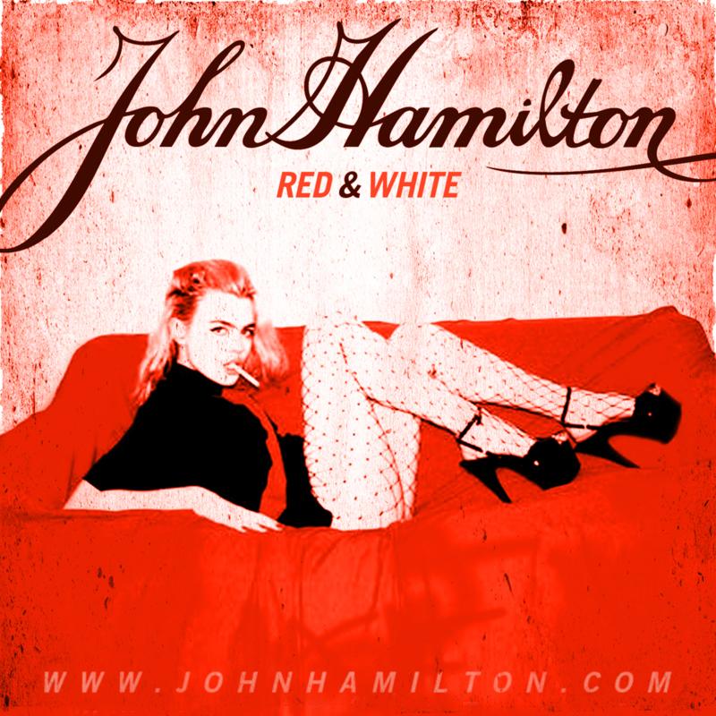 Red & White by John Hamilton