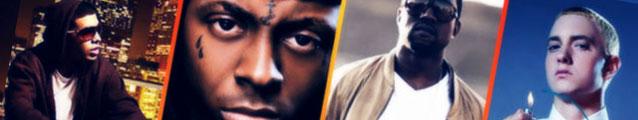 Drake, Kanye, Weezy, Eminem (banner)