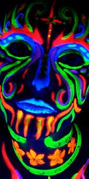 Glow Dubstep Face