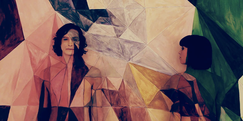 Gotye and lovely lady friend