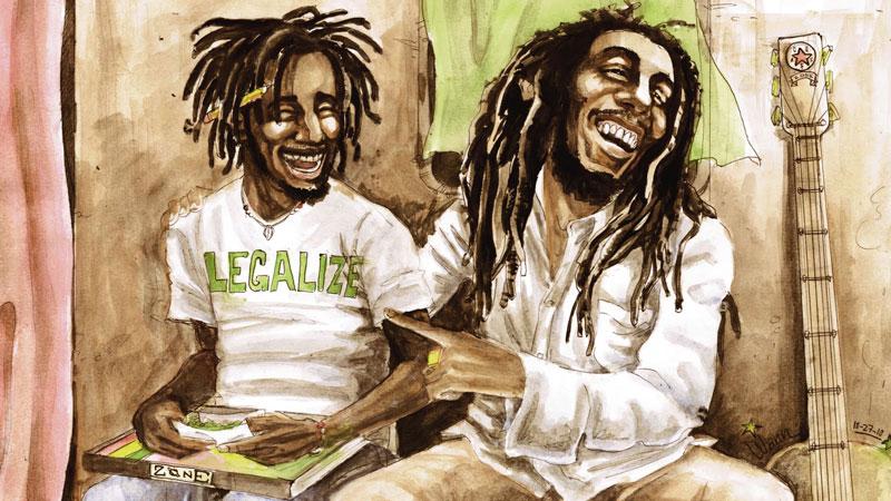 Bob Marley - Legalize Marijuana