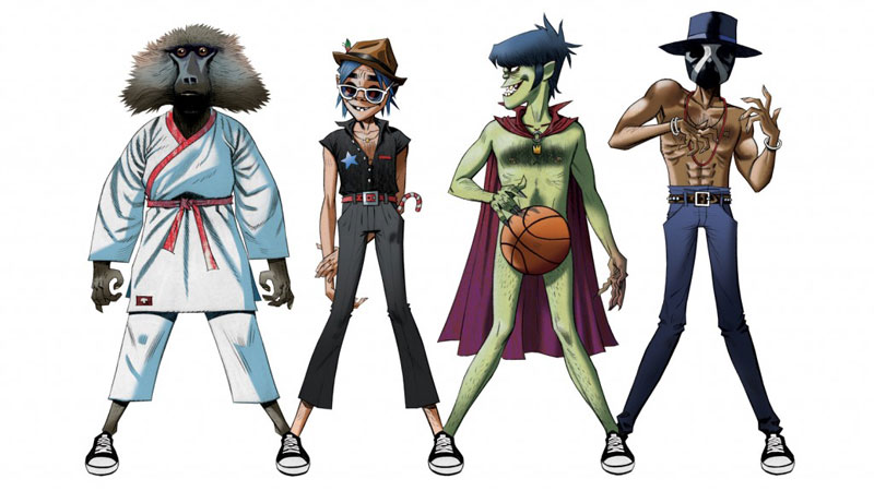 DoYaThing by Gorillaz (Artwork)