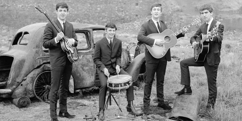 The Beatles Back in the Day