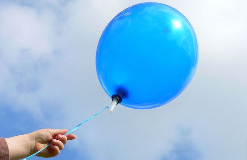 Letting Go of Balloon