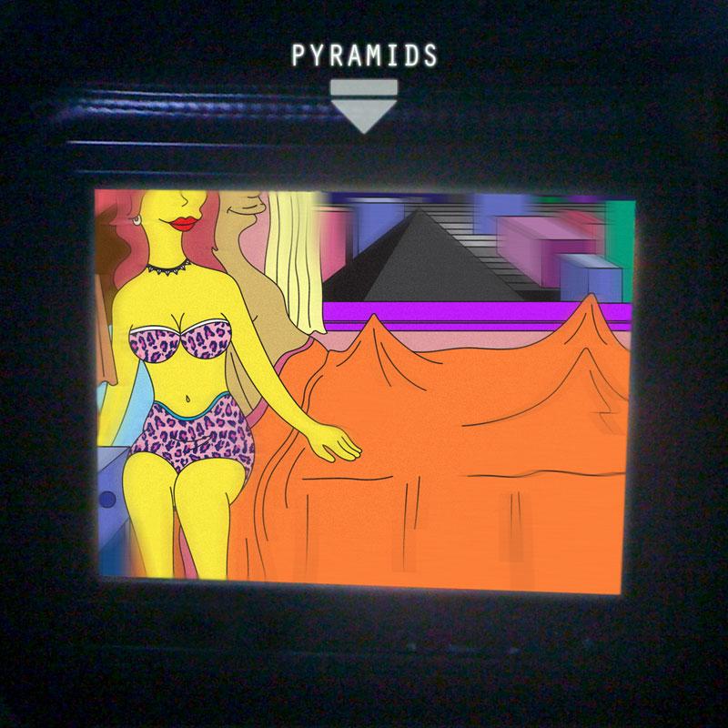 Frank Ocean - Pyramids (Album Artwork)
