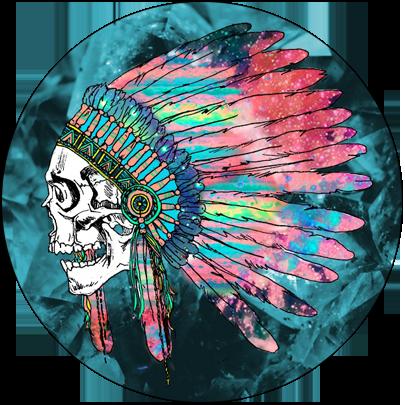 Skeleton Indian