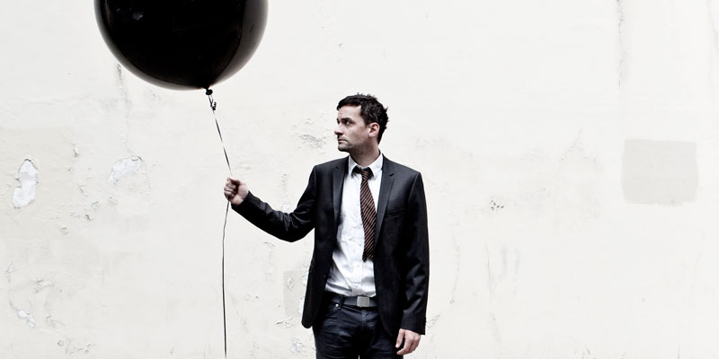Bonobo with a Balloon