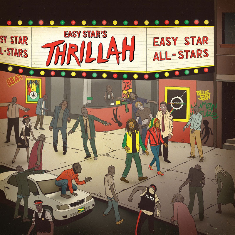 Easy Star All-Stars - Thrillah (Artwork)