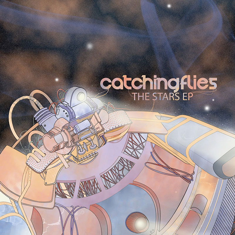 CATCHING FLIES - The Stars EP (Artwork)