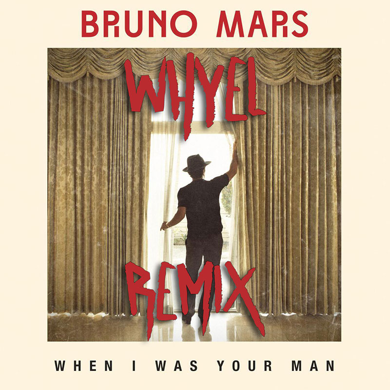 Bruno Mars (Whyel Remix) (artwork)