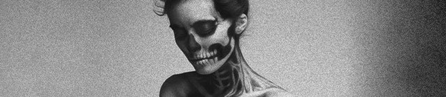 Skeleton Girl (banner)