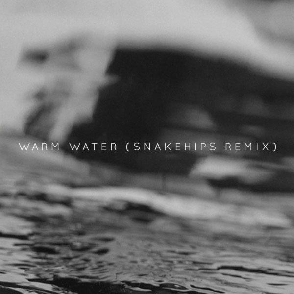 Banks - Warm Water (Snakehips Remix) (artwork)