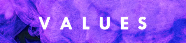 Values (banner)
