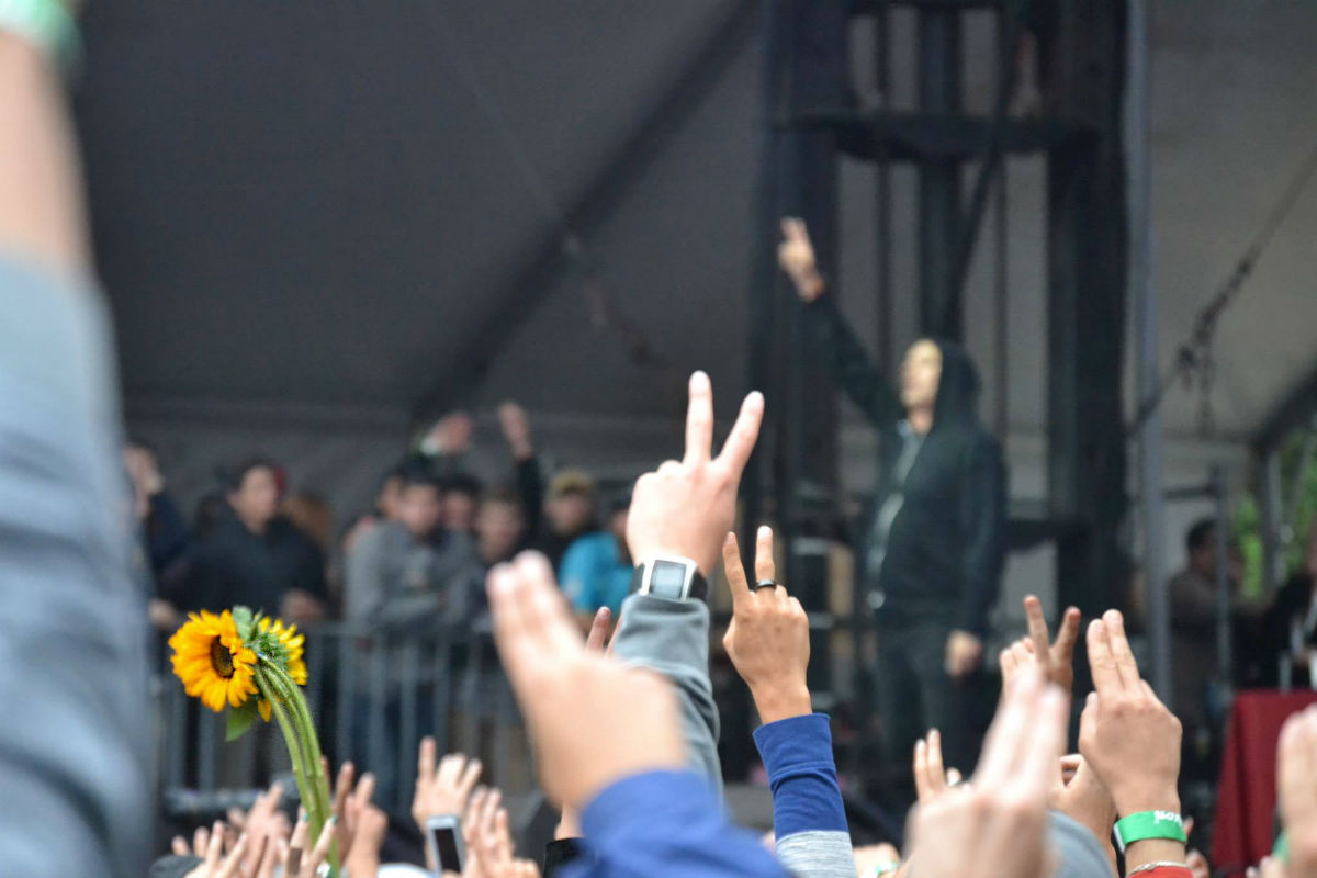 Atmosphere at Outside Lands 2014