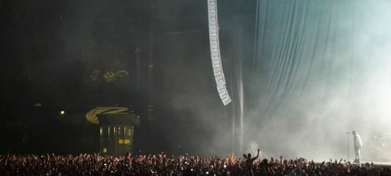 Kanye at Outside Lands 2014