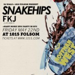 Snakehips + FKJ at SF's 1015 Folsom