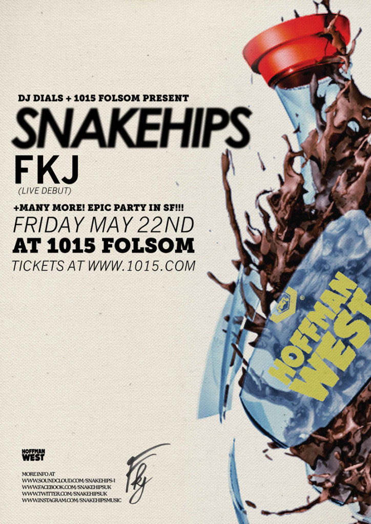 Snakehips + FKJ at SF's 1015 Folsom | Silence Nogood